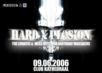 Hard X-plosion (flyer)