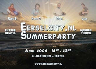 Eerselcity.nl Summerparty (flyer)