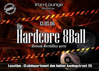flyer The Hardcore 8ball