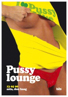 Pussy lounge (flyer)