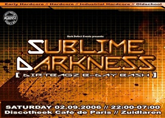 Sublime darkness 2 (flyer)