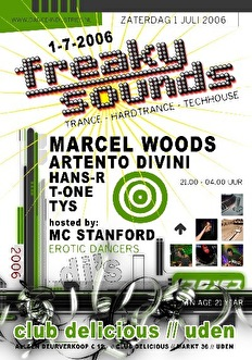 Freaky sounds (flyer)
