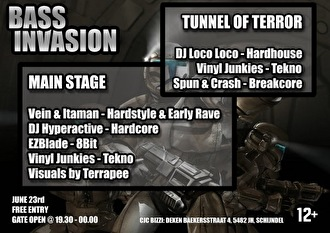Bass invasion (flyer)
