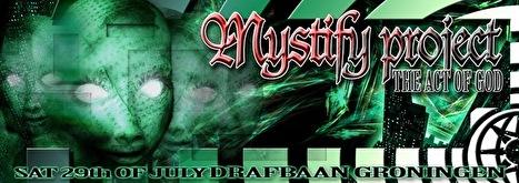 Mystify project (flyer)
