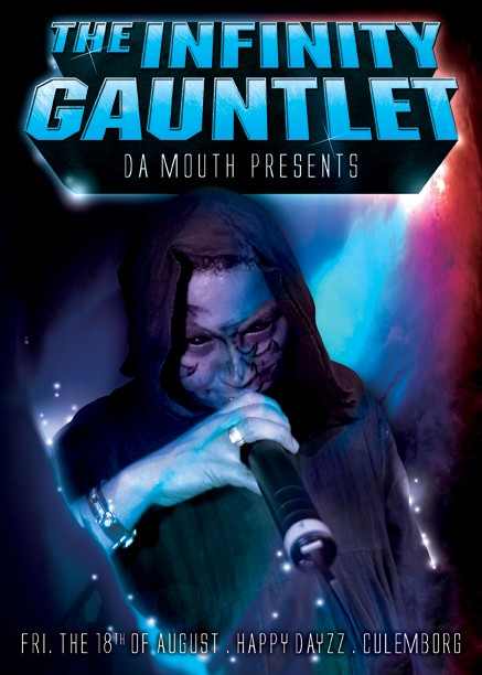 The infinity gauntlet (flyer)