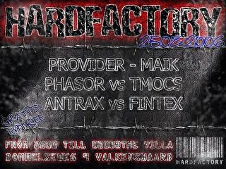Hard factory (flyer)