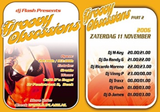 Groovy Obsessions (flyer)
