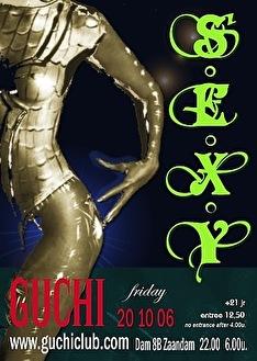 S.E.X.Y (flyer)