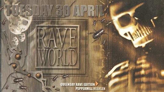 Raveworld / Megarave (flyer)