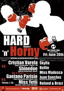 flyer Hard ´n´ Horny