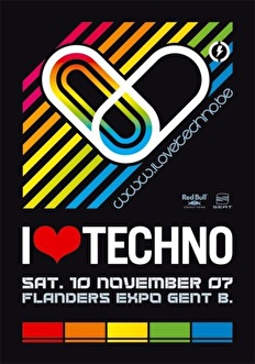 flyer I Love Techno