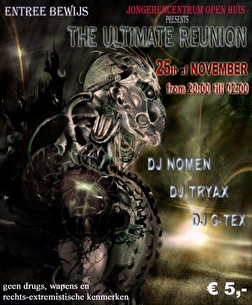 The Ultimate Reunion (flyer)