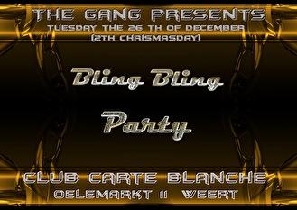 Bling Bling party (flyer)