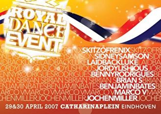flyer Royal Dance Event