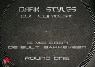 Darkstyles Dj Contest (flyer)