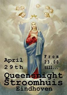 Queensnight in het Stroomhuis (flyer)