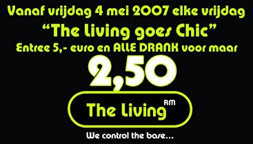 The Living goes Chic (flyer)