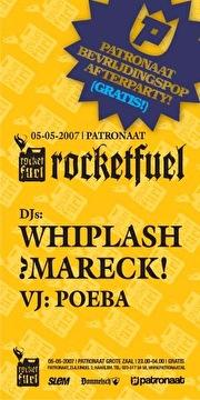 Bevrijdingspop afterparty (flyer)