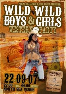 Wild wild Boys & Girls (flyer)