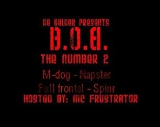 flyer B.O.B.