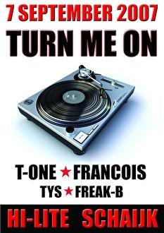 Turn me on (flyer)