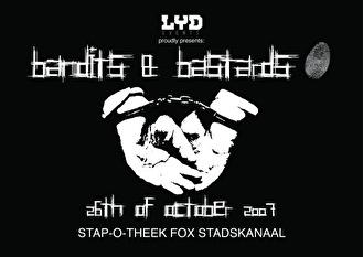 Bandits & Bastards (flyer)