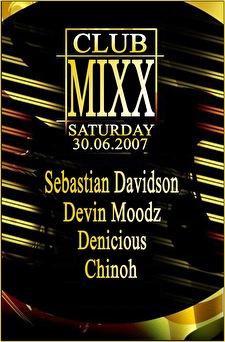 Club mixx (flyer)