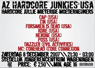 AZ Hardcore Junkies USA (afbeelding)