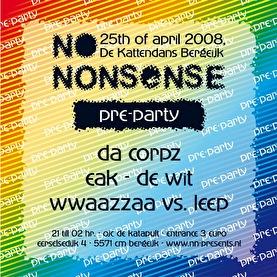 No-Nonsense Pre-Party (afbeelding)