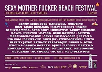 Sexy Mother Fucker the Beach Festival (afbeelding)