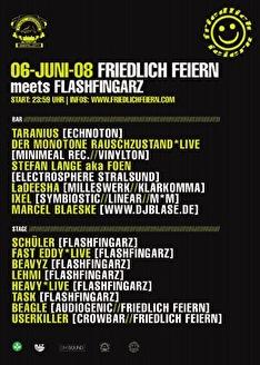Friedlich Feiern meets Flashfingarz (afbeelding)