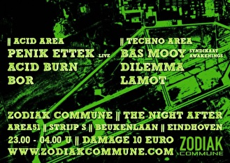 Zodiak Commune The Night After (afbeelding)