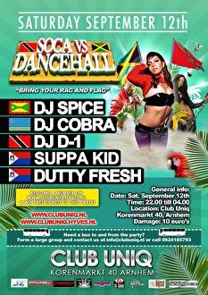 Soca vs Dancehall (afbeelding)