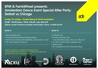 Detroit vs Chicago ADE Special Afterparty (afbeelding)