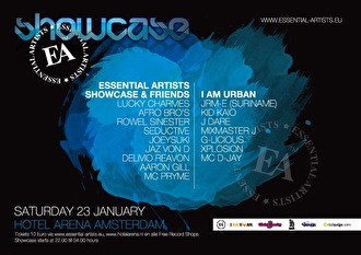 Essential Artists Showcase ft I am Urban (afbeelding)