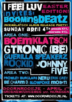I Feel Luv invites Boomingbeatz (afbeelding)