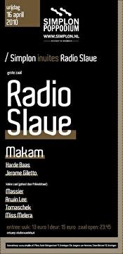 Simplon invites Radio Slave (afbeelding)