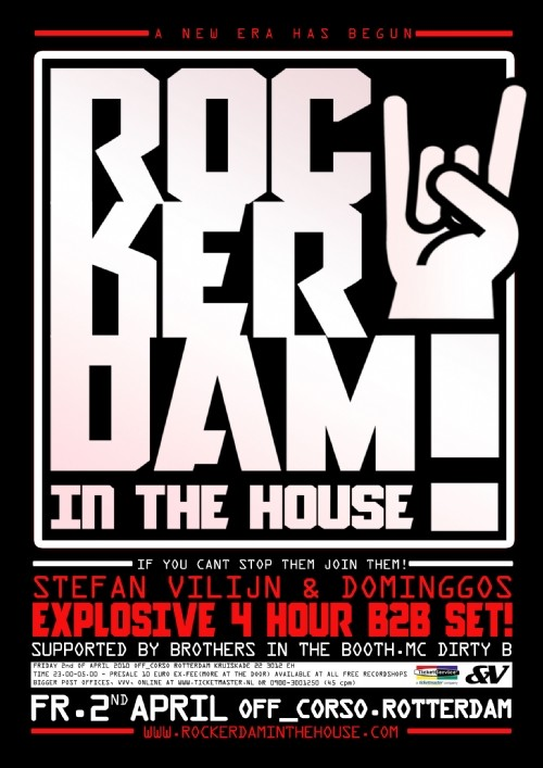 Rockerdam In The House 2 April 2010 Offcorso Rotterdam Line Up