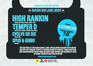 Suicide Dub Label Night (afbeelding)