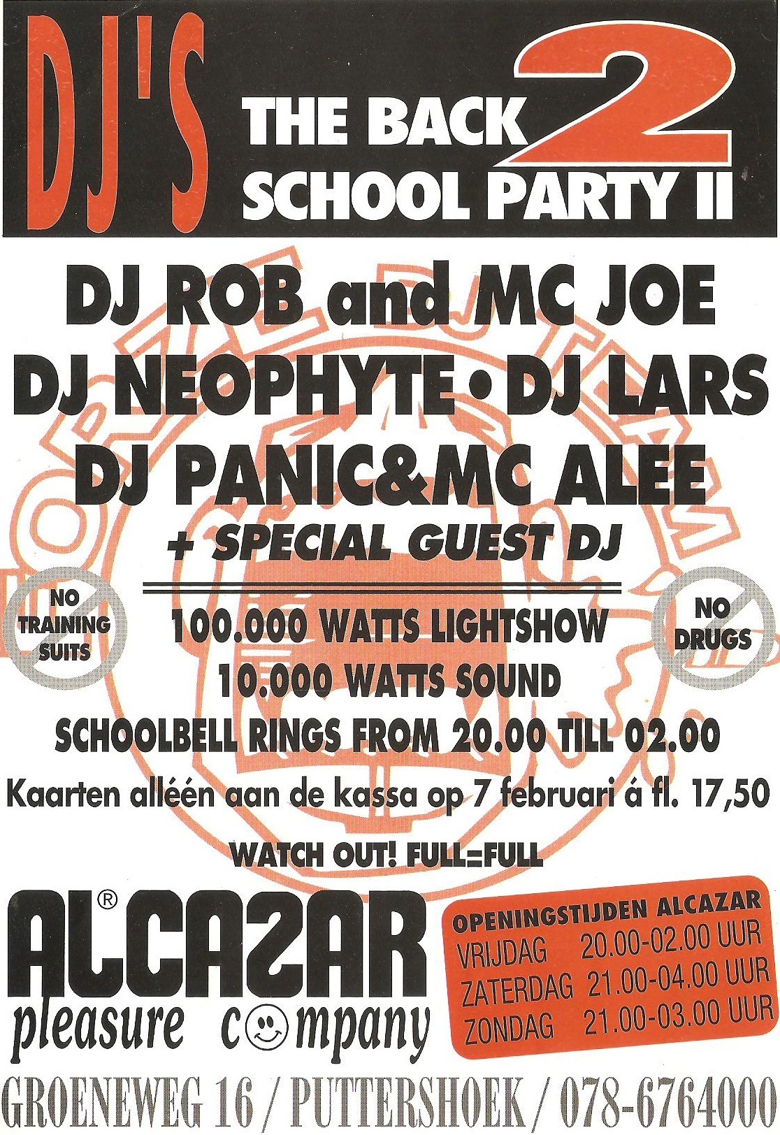 The Back 2 School Party II - Tickets, line-up & info