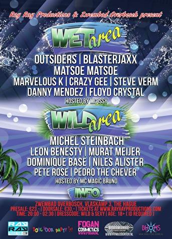 Wet & Wild - Tickets, line-up & info