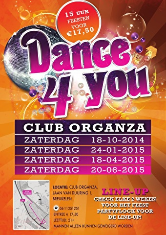 Dance4You incl. Morning Mission (afbeelding)