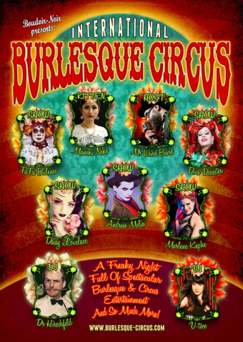International Burlesque Circus (afbeelding)