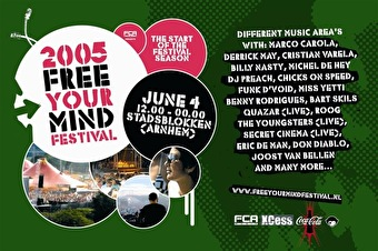 afbeelding Free Your Mind Festival