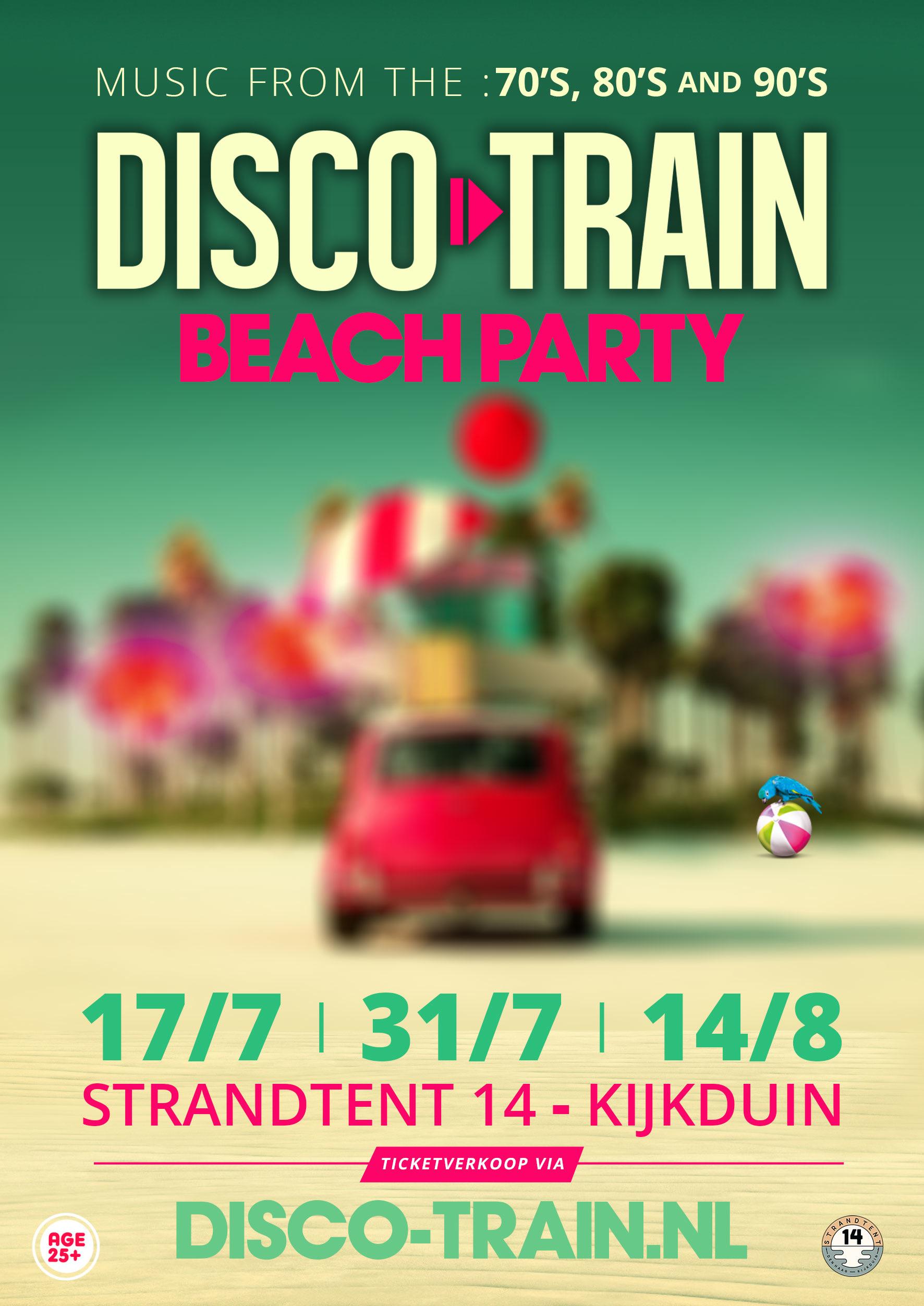 Disco-Train Beach Party