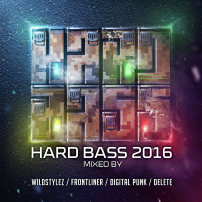 afbeelding Hard Bass 2016 - Mixed By Wildstylez, Frontliner, Digital Punk & Delete