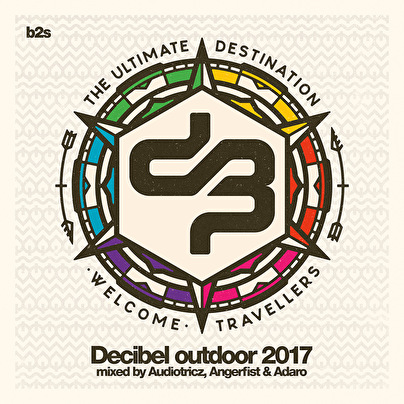 afbeelding Decibel Outdoor 2017 - Mixed By: Audiotricz, Angerfist & Adaro